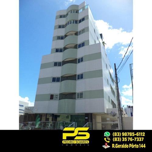 (só Esse Mês!) Apt C/ 2 Dormitórios À Venda, 46 M² Por R$ 240.000 - Manaíra - João Pessoa/pb - Ap1934