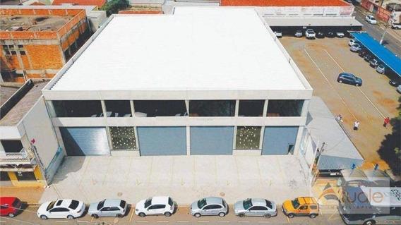 Salão Para Alugar, 674 M² - Centro - Sumaré/sp - Sl0470