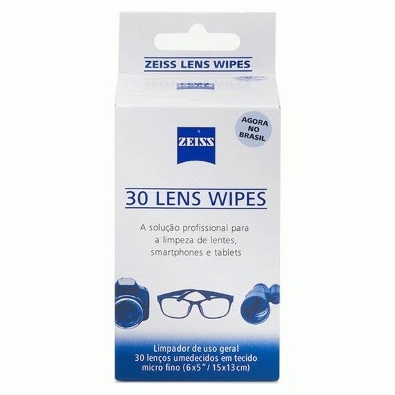 30 Caixas De Lenços Umedecidos Zeiss Lens Wipes