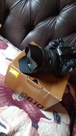 Câmera Nikon Dslr D610+lente 24-70m F2.8 Sigma