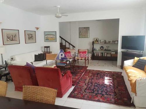 Casa De Vila À Venda, 3 Quartos, 1 Suíte, 4 Vagas, Jardim Botânico - Rio De Janeiro/rj - 22344