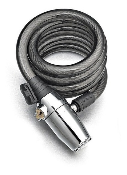 Cadeado Cilíndrico Cromado Com Alarme-lock Alarm-modelok2001
