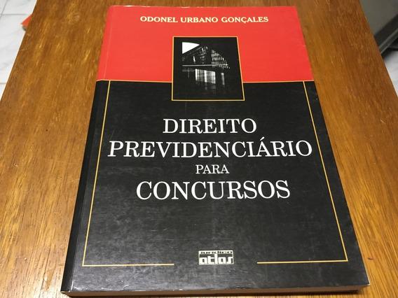 Livro Direito Previdenciário Para Concursos Frete R$ 17,00