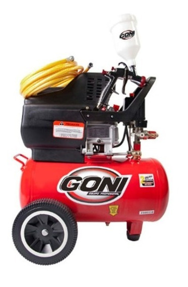 Goni-975k Kit Compresor 975, Pistola 70 Y Mang 170