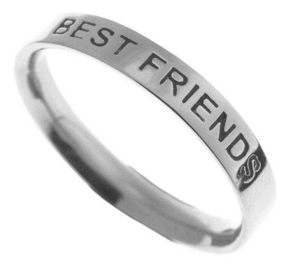 Anel Em Prata 925 - Best Friends - 1493
