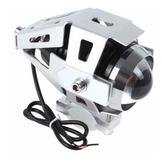 Neblinero Moto Led Tipo Xenon 15w Con Soporte Outletnet