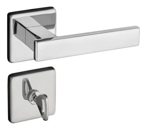 Fechadura Porta Zm Concept Banheiro Ros 408 Cromado Pado