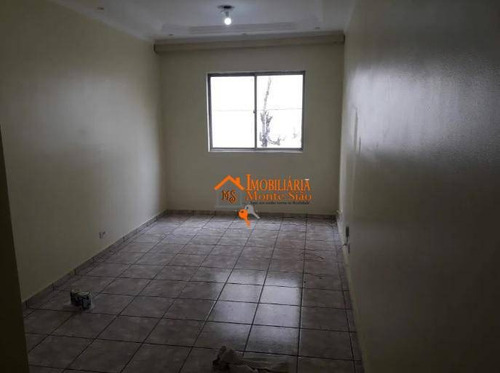 Imagem 1 de 12 de Apartamento Com 1 Dormitório À Venda, 50 M² Por R$ 180.000,00 - Macedo - Guarulhos/sp - Ap2221