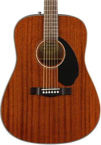 Imagen 1 de 6 de Guitarra Acústica Fender Cd-60s All Mahogany Caoba