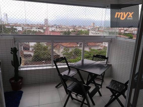 Apartamento Com 1 Dormitório À Venda, 50 M² Por R$ 317.000 - Vila Valença - São Vicente/sp - Ap5476
