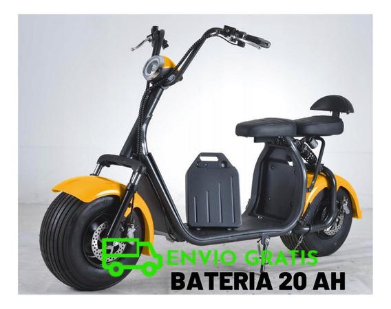 Moto Electrica Citycoco Bateria Litio Ahora 18 Cuotas - 0km