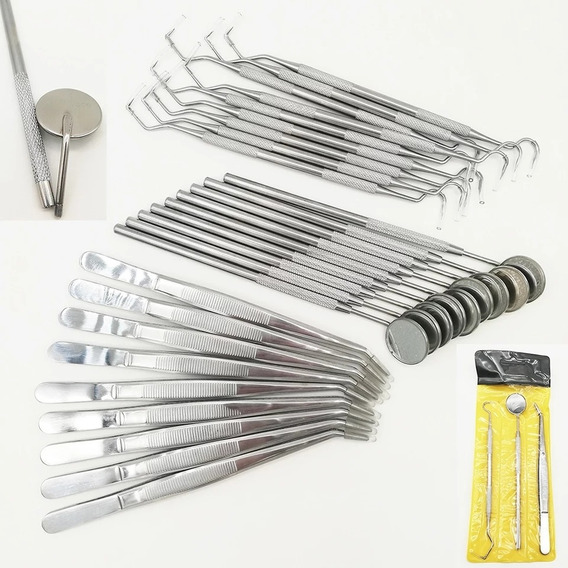 Herramientas Para Dentista, Kits De Materiales Dentales 3 Pz