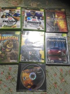 Lote De Juegos Xbox Classic Usados Rebajados