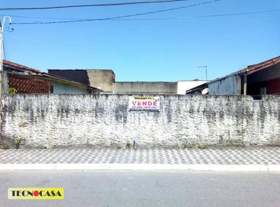 Excelente Terreno Para Venda Com 250 M² No Bairro Vila Tupiry Em Praia Grande/sp. - Te0106
