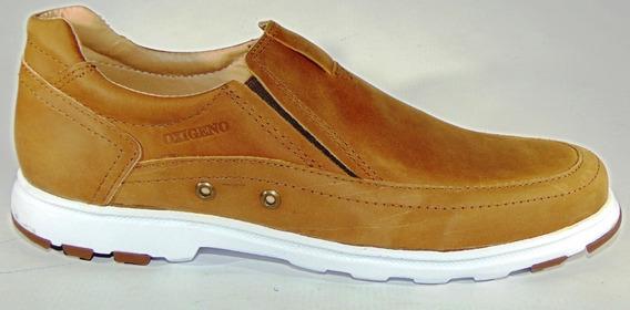 Zapatos Urbanos Oxigeno Cuero 100 % Suela Febo Art 952