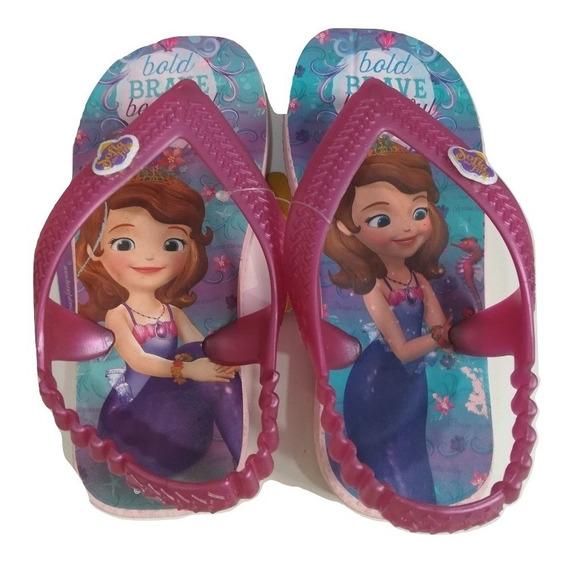 Ojotas Princesa Sofia Disney!