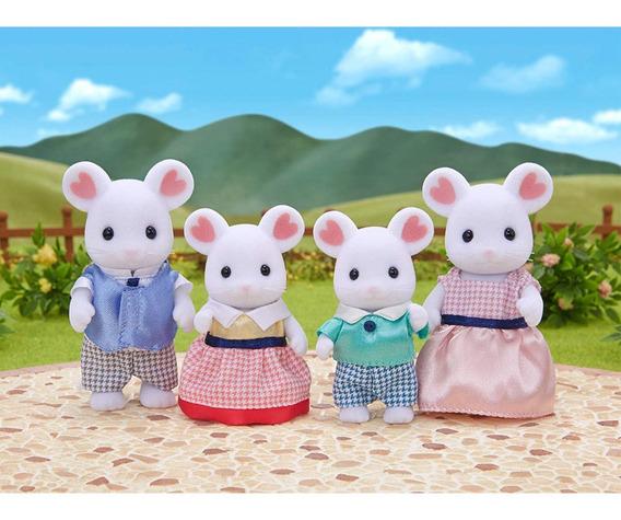 Sylvanian Families - Família Ratos Marshmallow - Epoch