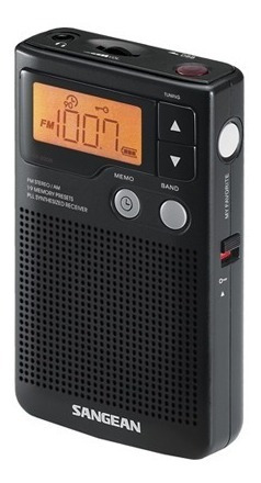 Rádio De Bolso Sangean Dt-200x Am/fm Stéreo Importado Pll