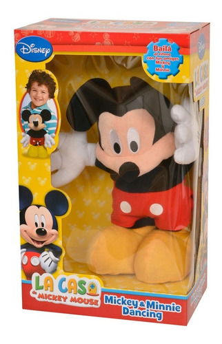 Peluche Bailarin Dancing Mickey Club House Ditoys Original
