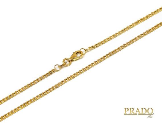 Corrente Masculina Grumet Em Ouro 18k 70cm