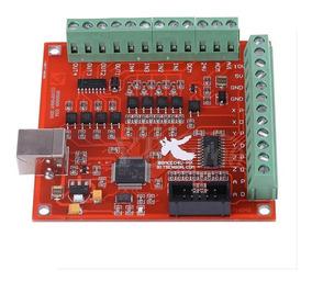 Interfaz Usb Mach3 Cnc Drivers P/ Motores Pap 4 Axis Mona