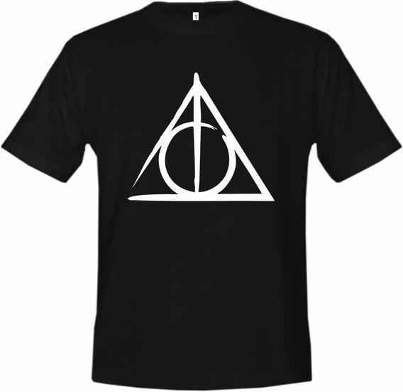 Camiseta Harry Potter - Relíquias Da Morte