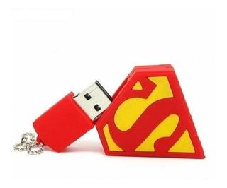 Memoria Usb Super Héroe Logo 8 Gb