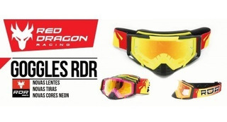 Antiparras Lentes Para Motocross Modelo Efx Red Dragon