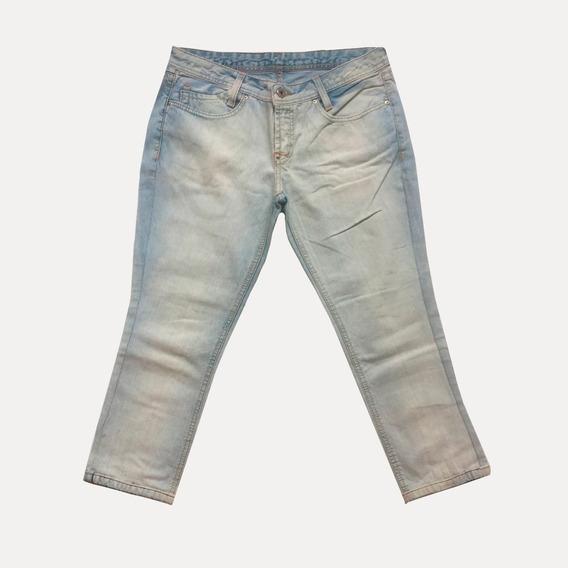 Calça Jeans Feminina Zoomp - Tamanho 40 Desconto Capri