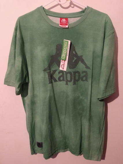 Remera Kappa Verde Talle M