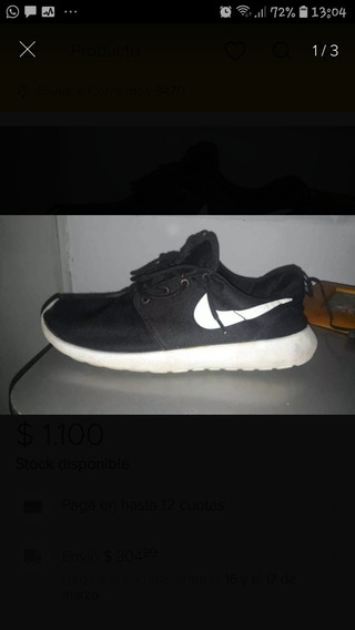 Zapatilla Nike Negra Roshe One