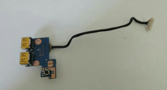 Placa Power E Usb De Notebook Np300e4c E Np-rv415l.
