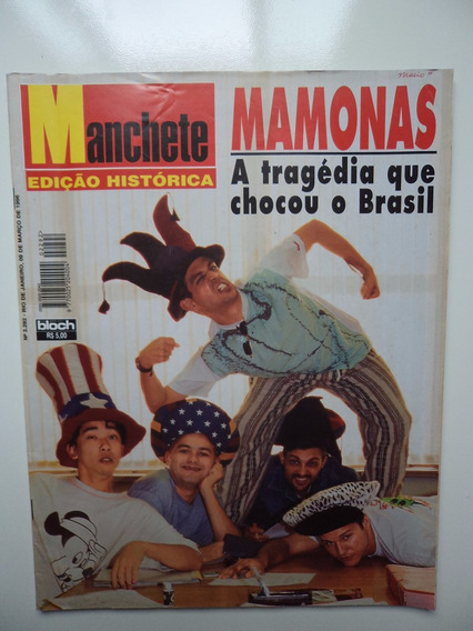 Revista Manchete - Mamonas Assassinas - N 2292