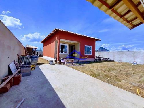 Casa Com 2 Dormitórios À Venda, 74 M² Por R$ 350.000,00 - Jardim Atlântico Central (itaipuaçu) - Maricá/rj - Ca0910