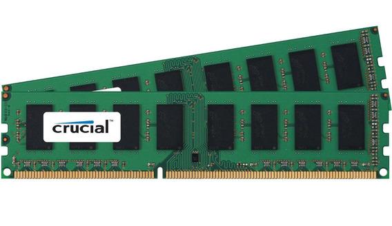 Memoria Crucial 8gb Ddr3 1600mt/s Pn:ct8g3ersls4160b 13