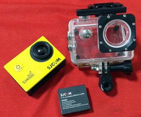 Câmera Sjcam 4000 Wifi Sport Cam- Grava Em Full Hd - Sj4000