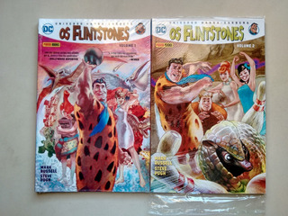 Hqs Dc Os Flintstones Vol 1 E 2 Universo Hanna Barbera D130