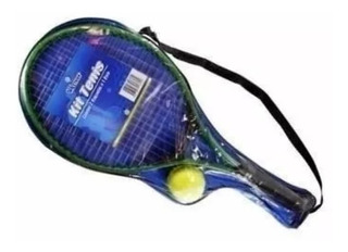 Kit C/2 Raquetes De Tenis C/ Bolinha Quadra Conjunto