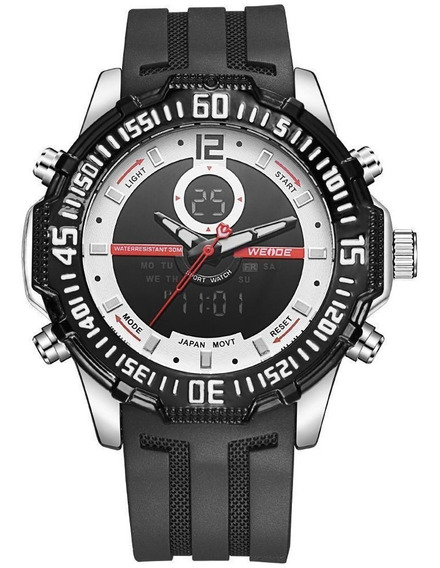 Exclusivo Reloj Weide Wh6105 Lcd + Estuche