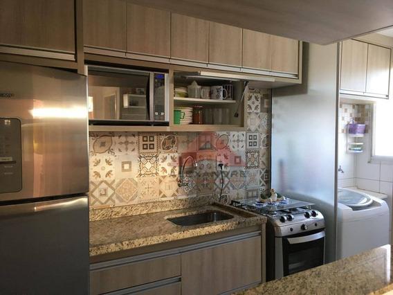 Apartamento À Venda, 48 M² Por R$ 185.000,00 - Parque Residencial Flamboyant - São José Dos Campos/sp - Ap3301