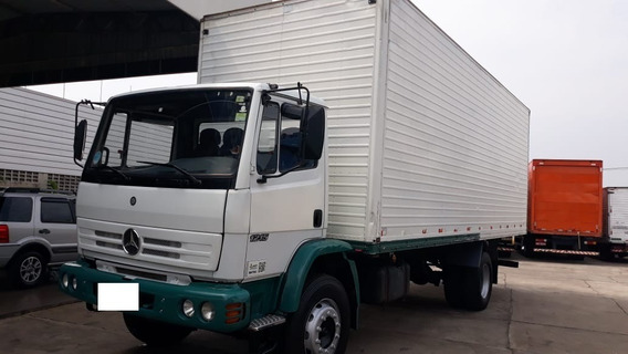 Caminhão Toco Baú Mb/ 1215c 2001/2001