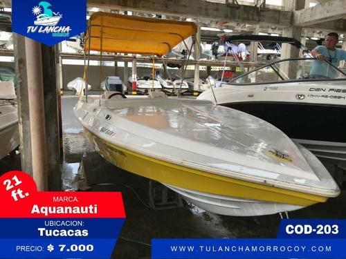 Lanchas Aquanauti 21 #203