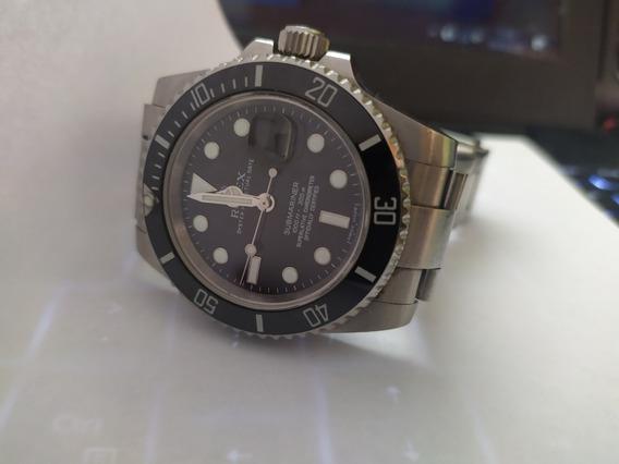 Relógio Eta - Mod. Submariner Sa3135 Aço 904l Foto Maquina