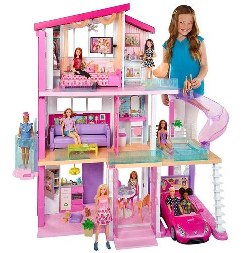Barbie Mega Casa De Los Sueños Fhy73 Multicolor Mansión