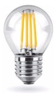 10x Lámpara Vintage Gota Filamento Led 4w E27 Cálida Fría