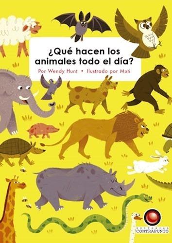 Que Hacen Los Animales Todo El Dia (cartone)