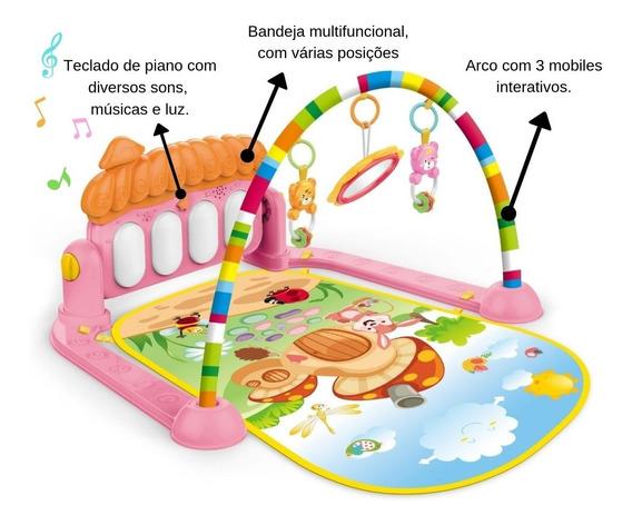Tapete Diversão Musical Infantil Interativo Bebe Barato Tv2