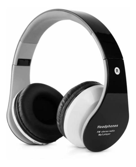 Headphone B-01 Sem Fio Radio Fm Cartão Sd Aux P2 Promoção
