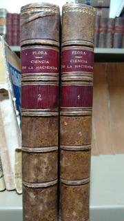 Federico Flora / Ciencia De La Hacienda 2 Tomos