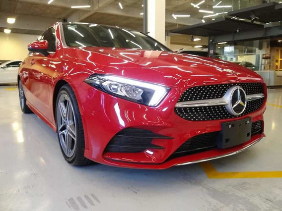 Mercedes-benz A 200 Sport Sedan 2020 Rojo